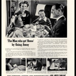 1942 Pullman Vintage Ad - Bedroom Suite