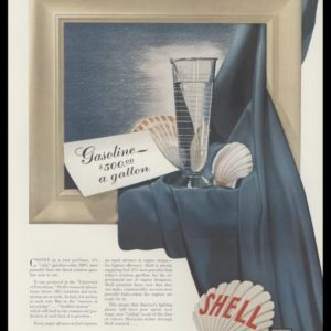 1965 Shell Oil Co. Vintage Print Ad - $500 gasoline