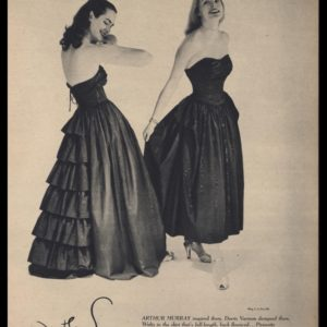 1947 Jonathan Logan Dress Vintage Ad | Doris Varnum