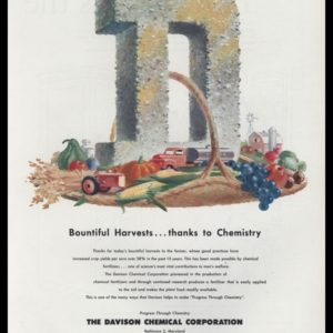 1953 Davison Chemical Vintage Ad | Bountiful Harvests