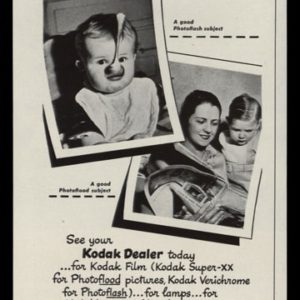 1946 Kodak Film Vintage Ad | Super-XX, Verichrome