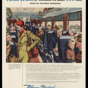 1946 Ad Pullman-Standard Railroad Cars | 400 Fleet