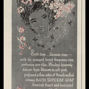 1946 Wrisley Bath Superbe Soap Vintage Ad