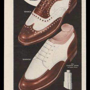1948 City Club Shoes Vintage Ad | Kenrick, Seminole