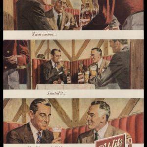 1948 Schlitz Beer Vintage Ad | Philip Dormont Art