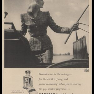 1948 Yardley English Lavender Vintage Ad
