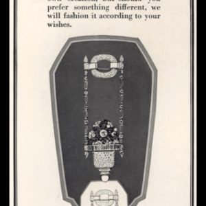 1928 Brand Chitillon Vintage Ad | Pendant Watch