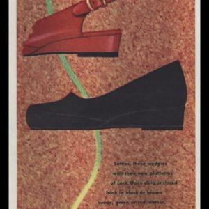1947 Chandler's Corker Shoes Vintage Ad