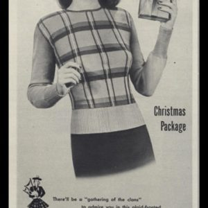 1947 Featherknits Sweater Vintage Ad