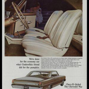 1966 Chevy II Nova SS Coupe Vintage Ad