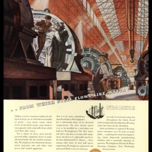 1936 Westinghouse Vintage Ad | Giant Motors