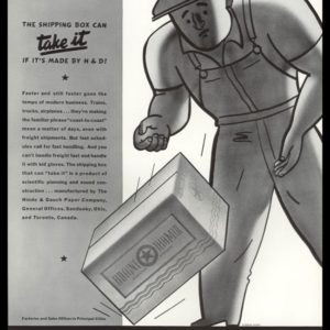 1938 Hinde & Dauch Shipping Boxes Vintage Ad - Howard Henry Art