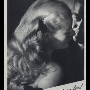 "1947 Richard Hudnut Egg Creme Shampoo Vintage Print Ad - ""Lovelights Your Hair!"""