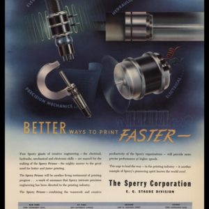 1947 The Sperry Corp Vintage Print Ad | Print Faster