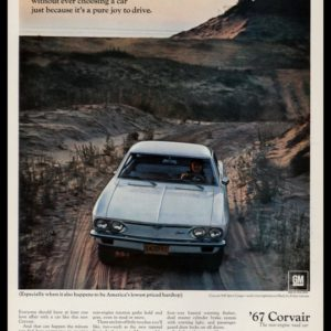 1967 Chevrolet Corvair 500 Coupe Vintage Ad