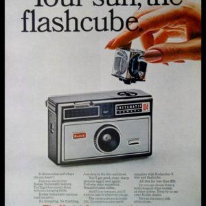 1967 Kodak Instamatic 104 Camera Vintage Ad