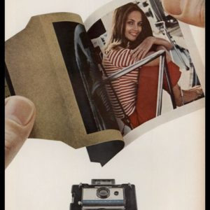 1967 Polaroid Camera Vintage Ad | Under $50. No kidding