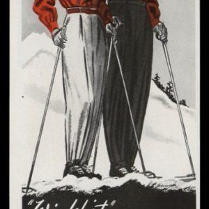 1947 White Stag Ski Togs Vintage Ad | Windshirt