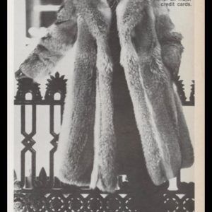 1978 Brothers II Vintage Ad | Men's Fur Coats
