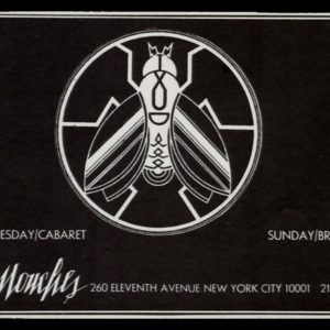 1978 Les Mouches Vintage Ad | NYC Disco