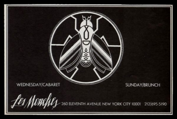 1978 Les Mouches Vintage Ad   NYC Disco