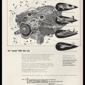 1952 Lycoming Vintage Ad | Artzybasheff Art